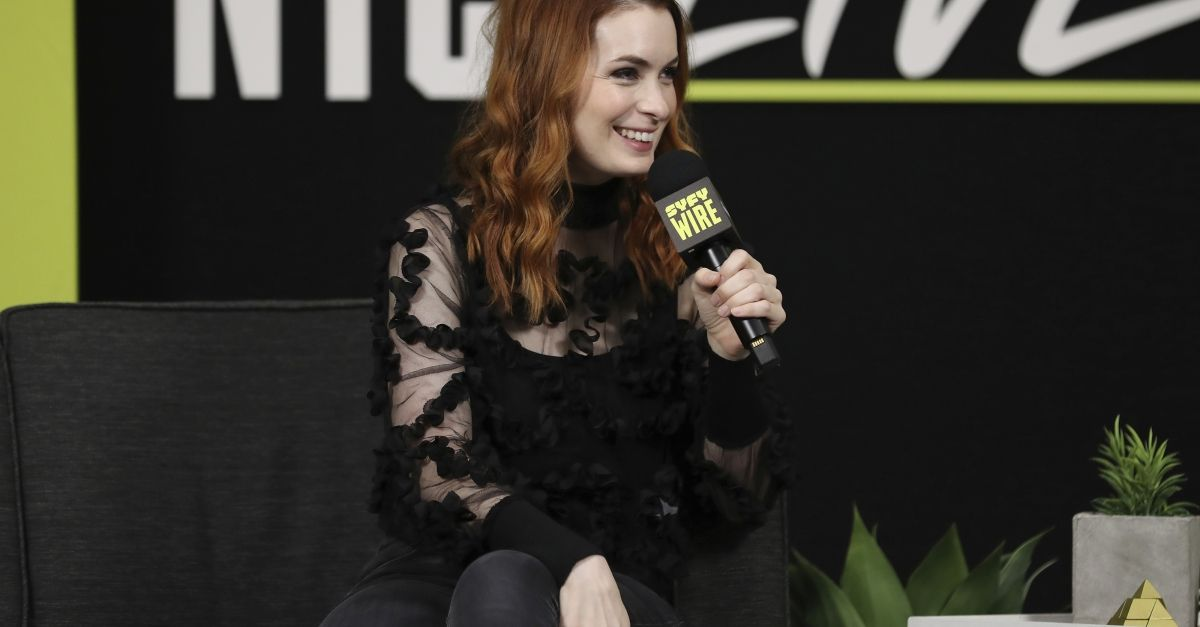 """""""You know, I think in life, we're dissuaded from leading with our weirdness but really that's where our greatest fulfillment comes,"""" actress and author @feliciaday told @wprBETA. https://buff.ly/2PBvpbR"""