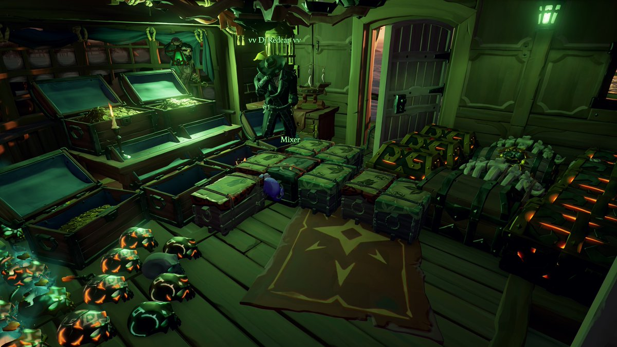 #SoTShot #BeMorePirate #GettingStacked #SeaOfThieves #XboxShare @Dj_Redcap