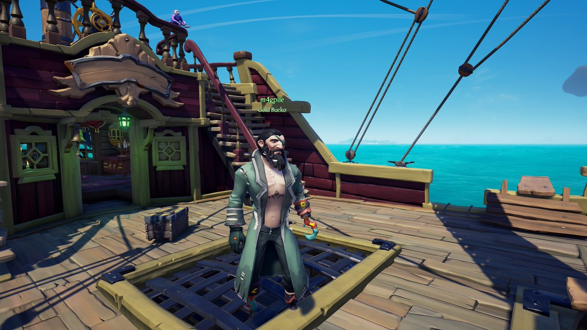 @NayfePacewell @Dj_Redcap @TACOKING1802 Our lucky recipient.  #GettingStacked #TisTheSeason #SoTShot #BeMorePirate #SeaOfThieves #XboxShare