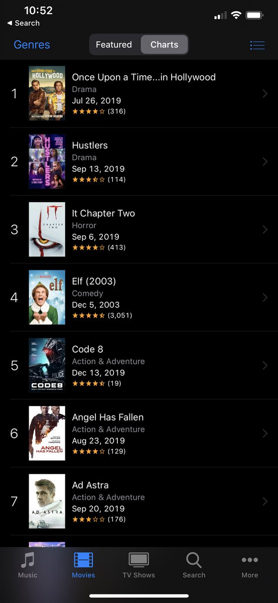 Woke up to some cool stuff #Code8 @AppleTV @iTunes Thank you to everyone who has watched 🥳