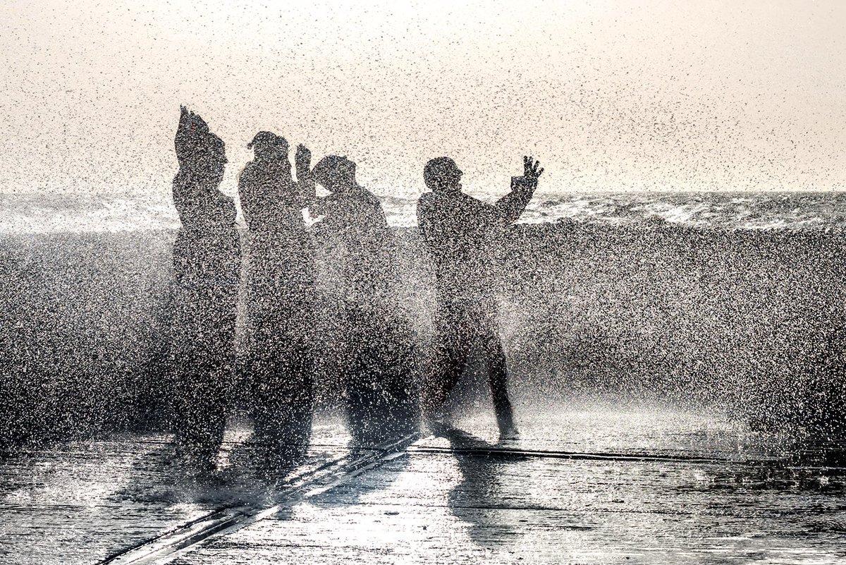 Brighton #britishweather #streetphotography #storms #beachlife #splash #wetthrough #bhafc #weatherpics