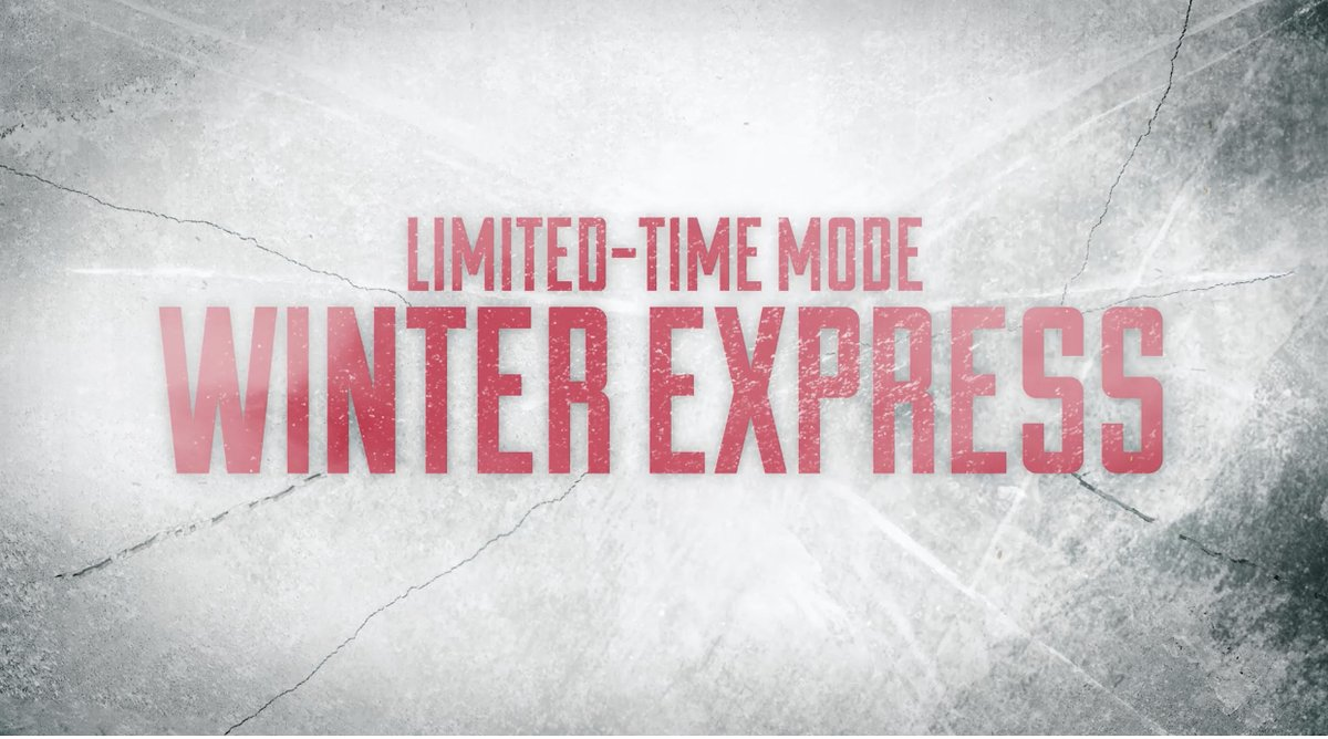 Image for the Tweet beginning: All aboard the Winter Express,