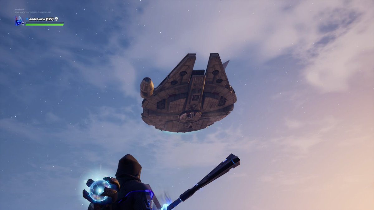 J.J. Abrams shows off Star Wars clip inside Fortnite, and now lightsabers are in the game