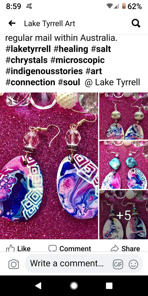 #ItsTooStrongForYouKaren  The family that suffered that shocking racist attack by Karen Ridge & Rob Vigors.....are great artists. Here's their earrings...great Xmas presents. #laketyrellarts @laketyrellatrs<br>http://pic.twitter.com/Hq2oCquhbr