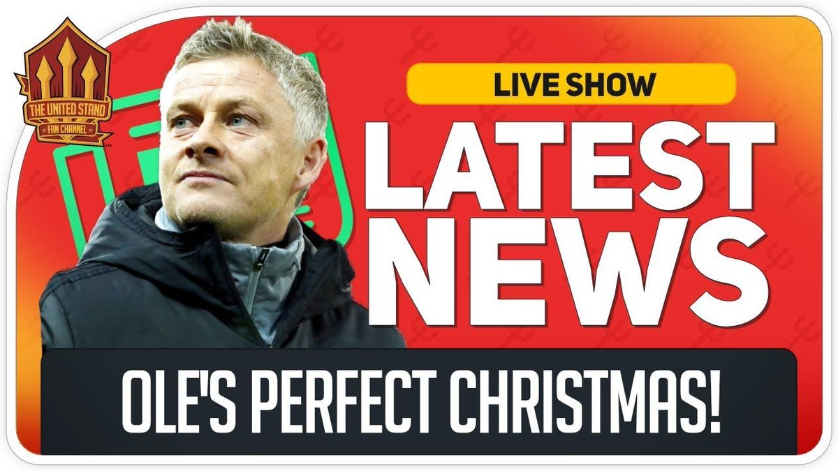 Top by Christmas! Lingard Abuse Reaction! We're LIVE https://buff.ly/2Ek4mMW  #mufc