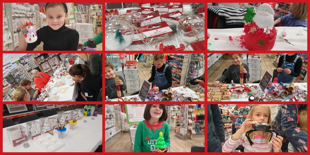 Did you come to one of our #christmasworkshops? Can you see yourself? #12makesofchristmas over for another year #workshop #craftworkshop #craftingisforeveryone #craftingisfun #christmas2019 #makeitshareit #giftideas #Rushden #handcrafted #oneoffcreation #northantshour