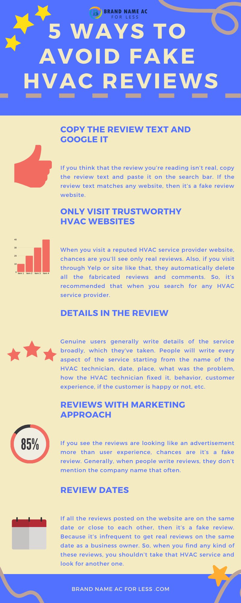 5 Ways to Avoid Fake HVAC Reviews