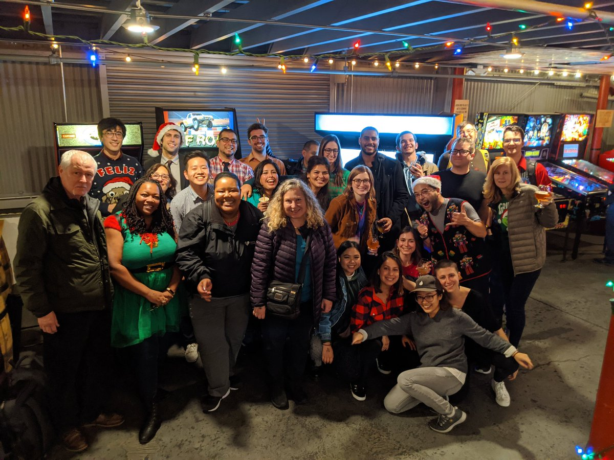 Simply put, the best staff ever! It's been a privilege to work with you all! #holidayparty #LoveWhereYouWork