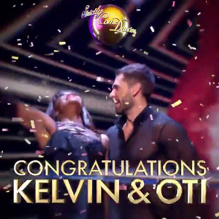 Our last-minute arrival has only gone and won the #Strictly Glitterball! Kelvin and Oti are your 2019 #StrictlyFinal winners! 👏🎉 @kelvin_fletcher @OtiMabuse