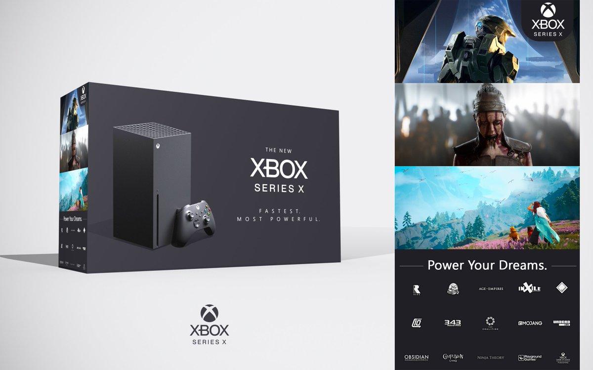 Klobrille On Twitter Just A Random Xbox Series X Packshot Idea I Had Keep It Simple Clean And Premium
