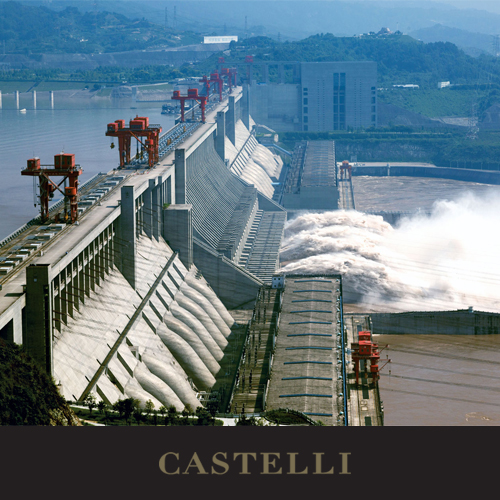 On this day: Construction begins on the 'Three Gorges Dam' on the Yangtze River 1994 (Source: Castelli 2019 corporate diary, our corporate diaries feature facts for every day) 2020 #diaries with a range of branding processes