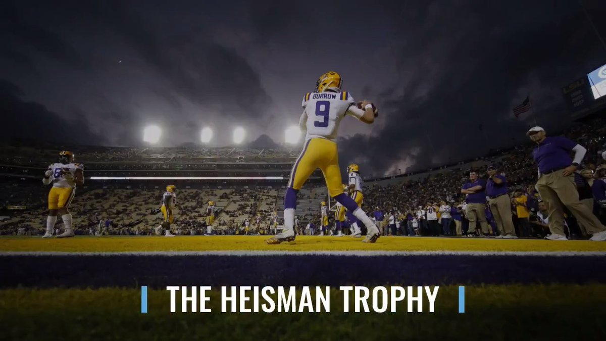 Joe Burrow won the Heisman in a record-breaking landslide, becoming the first LSU player to bring college football's most prestigious award back to Baton Rouge in 60 years. Burrow received a record 90.7% of all first-place votes available.Read more: http://apne.ws/goFKUHg