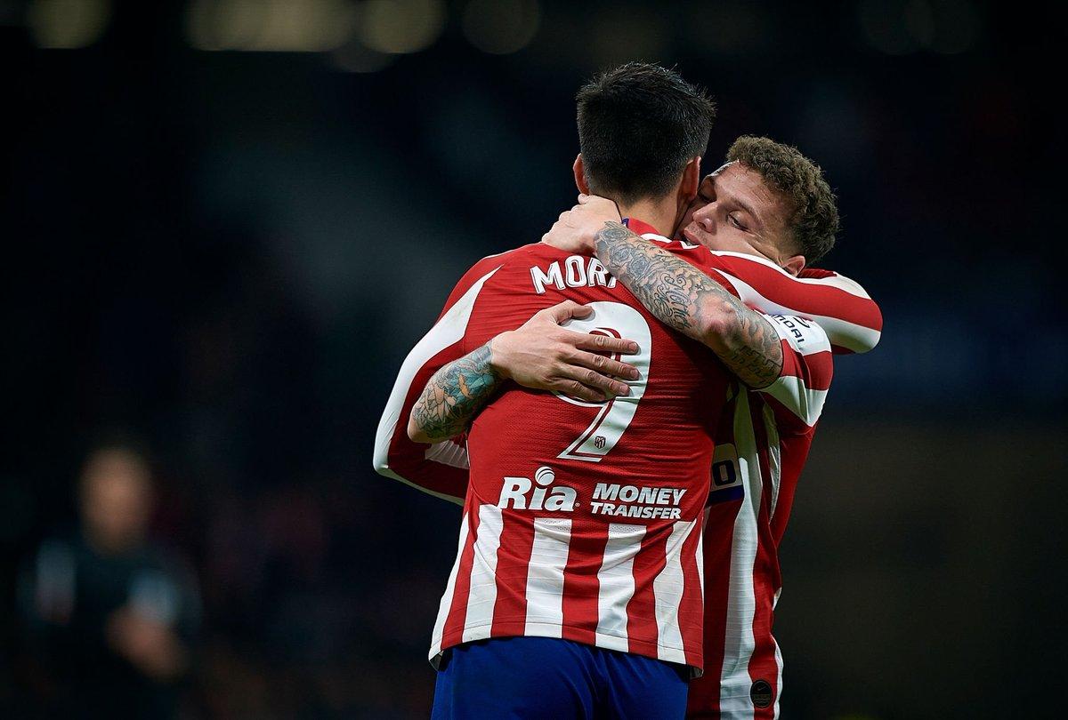 Álvaro Morata & Kieran Trippier. #Atleti [by Pablo Morano]: https://t.co/wSfvEOcDpO