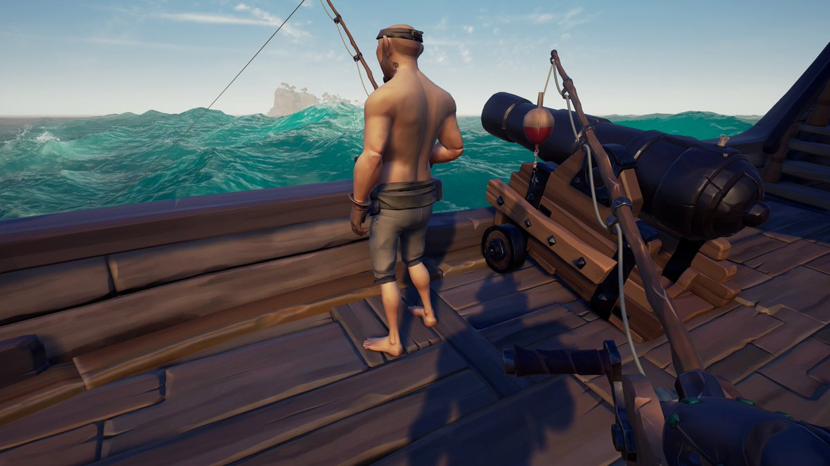 Doing some fishing with the boy! #SeaofThieves #XboxShare