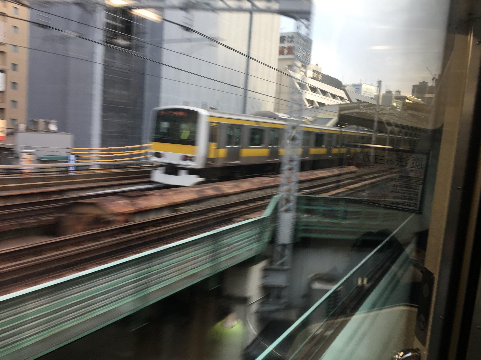 総武線の水道橋駅で人身事故が起きた当該列車の画像