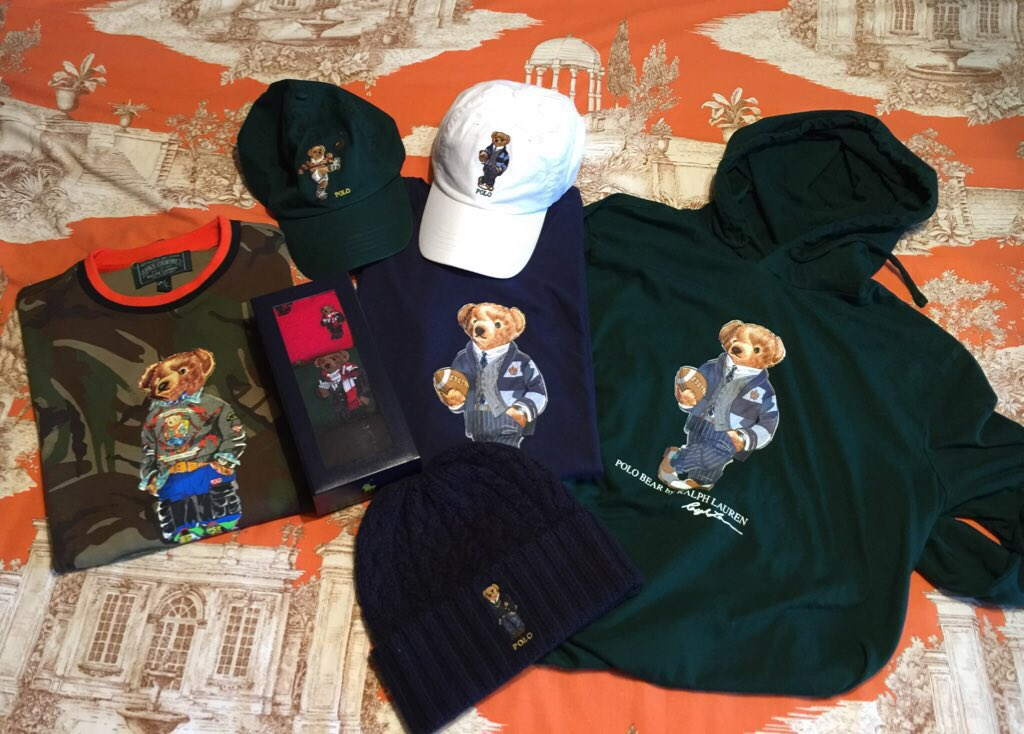 #PoloBear 🐻🐾   #poloralphlauren #bear #hat #ralphlaurensocks 🧦 #tshirt 👕 #polotshirt #gorra 🧢 #cap #bearpoloralphlauren 🐻🐾 #polobears #outfits #ralphlaurenpolo #polobearralphlauren #camuflaje #militarstyle  🧸🧶❤️#winter #winteroutfit #winteriscoming
