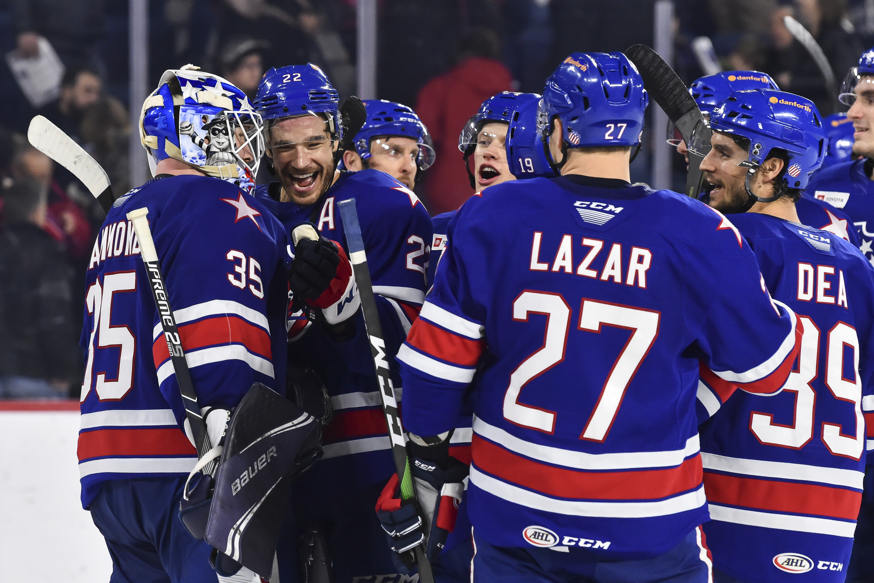 Amerks complete sweep with 5-0 win in Laval