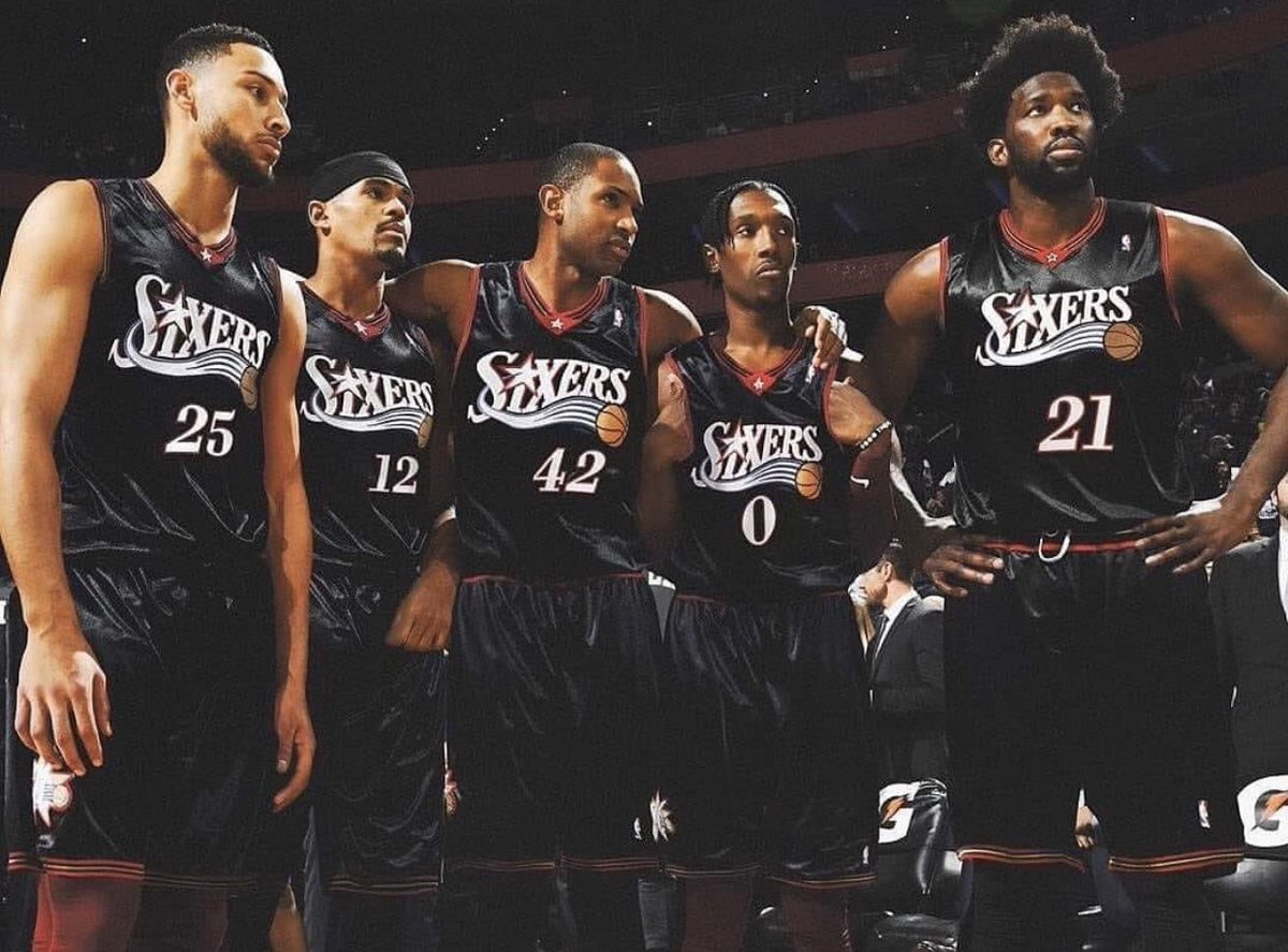 Allright guys @BenSimmons25 @JoelEmbiid @J_Rich1 @tobias31 @Al_Horford let's talk to ownership and make this happen please #PhilaUnite