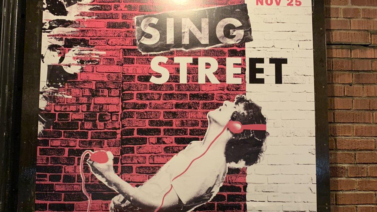 "Tonight's show: ""Sing Street"" at @NYTW79"