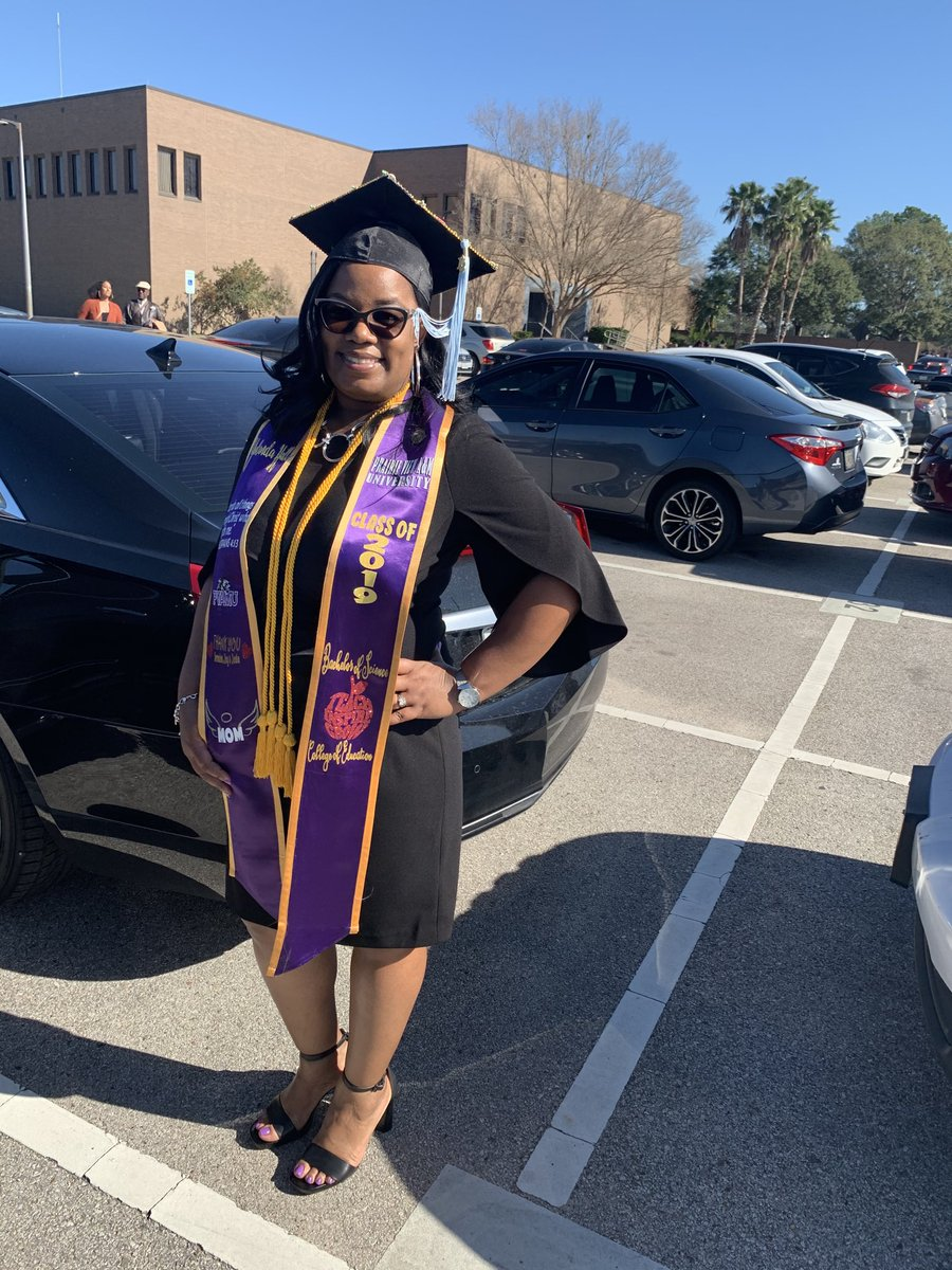 Mrs. Hall, 2019 PVAMU Grad!! #collegeofeducation @HemmenwayStreak #HemmenwayALLin #preK @CFISD