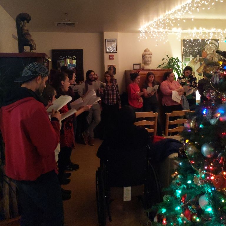 Maitri Sf On Twitter Beautiful Carolers From The First Mennonite Church Of San Francisco To End The Evening