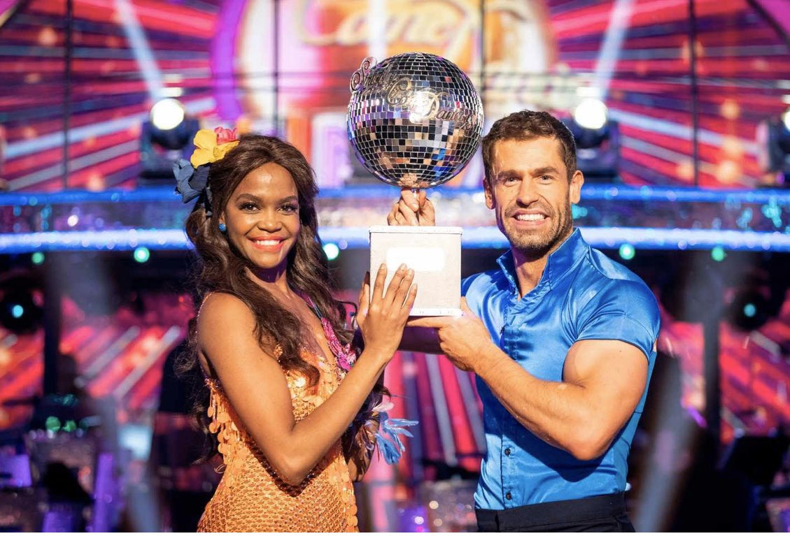 Keo Motsepe On Twitter Congratulations To Otimabuse And Kelvin Fletcher Bbcstrictly