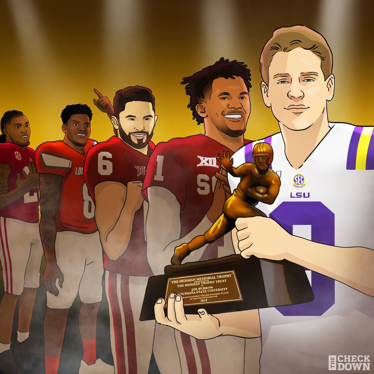 From backup to transfer to Heisman. Joe Burrow is just getting started 💯🔥