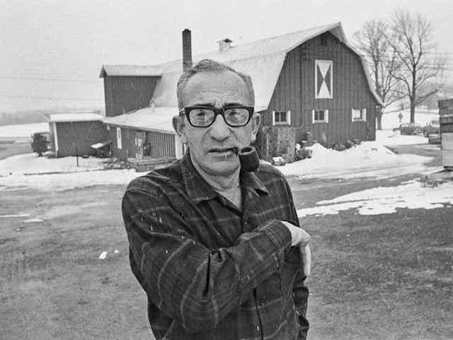 MAX YASGUR WAS BORN ON THIS DAY IN 1919...Max B. Yasgur (December 15, 1919 – February 9, 1973) was an American farmer, best known as the owner of the dairy farm in Bethel, New York at which the Woodstock Music and Art Fair was held August 15 - August 18, 1969. #Woodstock