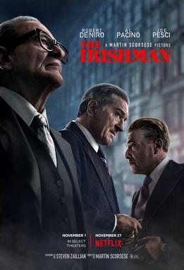 Se De Niro, Al Pacino e Joe Pesci dirigidos por Scorsese não for motivo suficiente pra você encarar 3 horas e meia de filme, nada mais é. #oirlandes #Netflixpic.twitter.com/vL3GbIUzfL