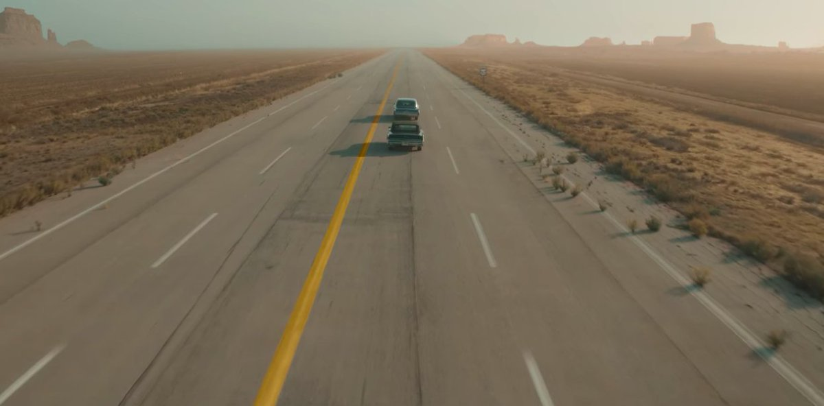 "S3; Ep2 of The Crown: ""Margaretology,"" Just to be clear- when one is traveling by car from Los Angeles, CA to Douglas, AZ, one does not traverse through Monument Valley. It does make for a pretty shot, though. #goofs @TheCrownNetflixpic.twitter.com/EoxFuvDMO7"