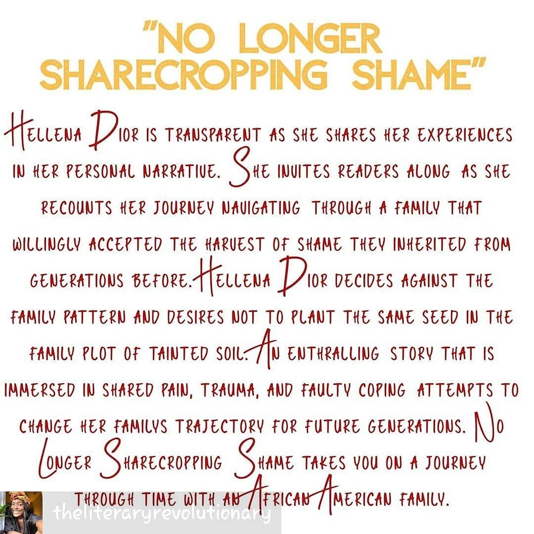 #hellenadior #authorhd #authorhellenadior #nolongersharecroppingshame #nlss #author #bookworm #blackauthors #blackauthorsmatter #memoir #healing #trauma #childhoodtrauma #wellreadblackgirl #peace #shame #twinkle #transformation #selflove #selfforgiveness #mindsetshift pic.twitter.com/CoMIAhHMzc