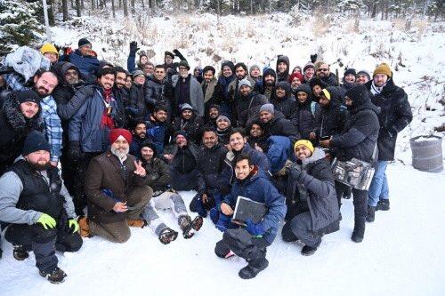 Team #Chehre @emraanhashmi @SrBachchan @SiddhanthKapoor @anandpandit63 in #Slovakia | #EmraanHashmi