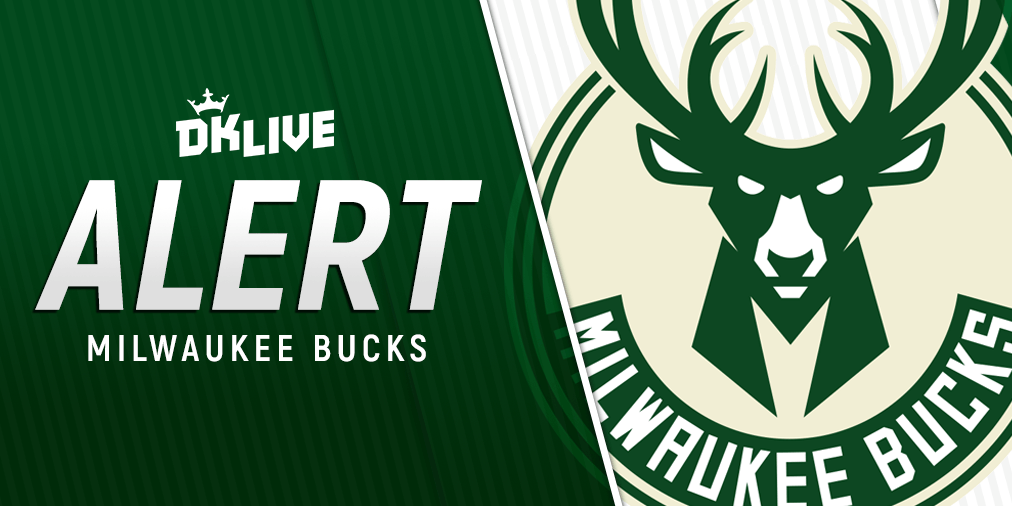 NBA INJURY ALERT: Bucks PG Eric Bledsoe is expected to miss two weeks with fractured fibula. Analysis: http://live.draftkings.com #FearTheDeer