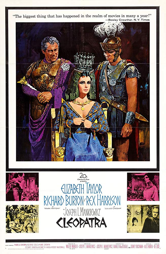 Now watching Cleopatra. 'Cos too much Dick and Liz is never enough #NowWatching #Cleopatra #ElizabethTaylor #RichardBurton #ClassicHollywood pic.twitter.com/feYhKgluhj