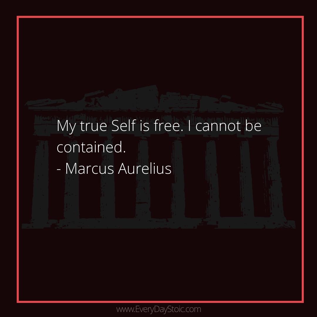 My true Self is free. I cannot be contained. -Marcus Aurelius  #Anger #antique #Discipline #epictetus #GrowthMindset #Knowledge #KnowledgeIsPower #MarcusAurelius #Mindset #mindsetmatters #MindsetShift #PersonalGrowth #Philosopher #Philosophy #PhilosophyQ https://everydaystoic.com/marcusaurelius/15-dec/…pic.twitter.com/lAPFesZ2wM