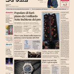 Image for the Tweet beginning: Sul #Sole24Ore di #oggi #15dicembre