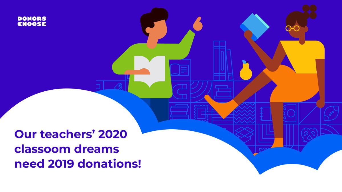 End 2019 on a high note and help a teacher start 2020 right. #SupportTeachers bit.ly/35008oS