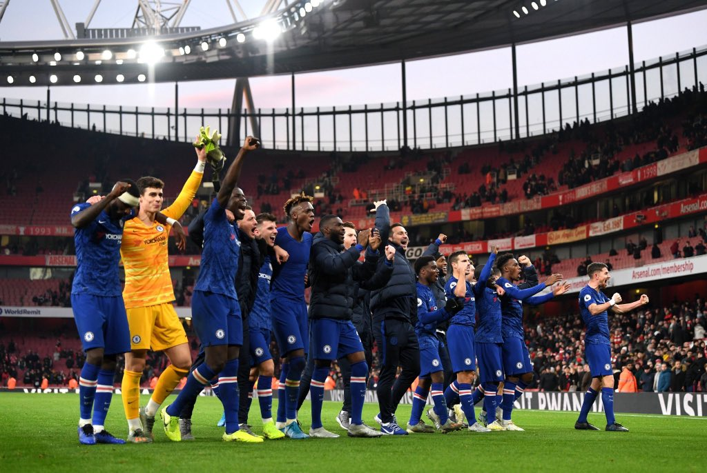 Finishing the year with a great win! @chelseafc #KTBFFH