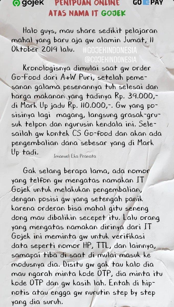Fellya Hartono On Twitter Ini Prnh Kejadian Ke Sy Jg Pesen