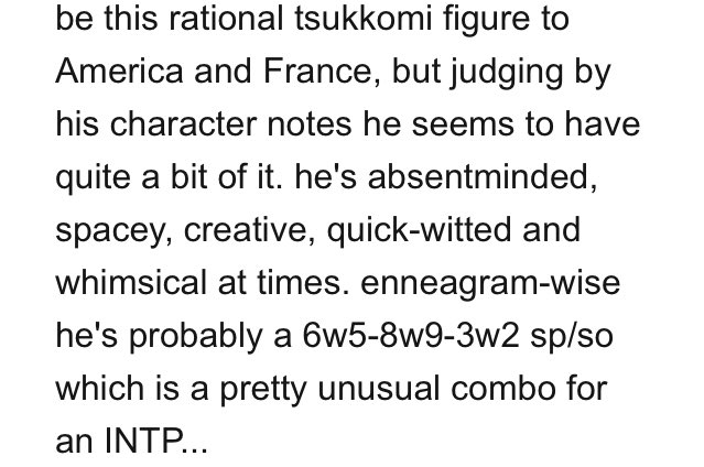 Frdc Nut On Twitter Omg I Googled Hetalia Mbti And Felt Happy That Some Ppl Validated My View Of Enfp America And Intp England Among The Sea Of Proclamations For Esfp America