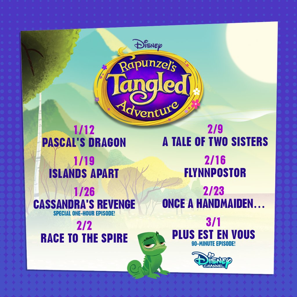 Raiponce - La Série [Disney Channel - 2017] - Page 26 EM-XxFyWsAEyAtS?format=jpg&name=medium