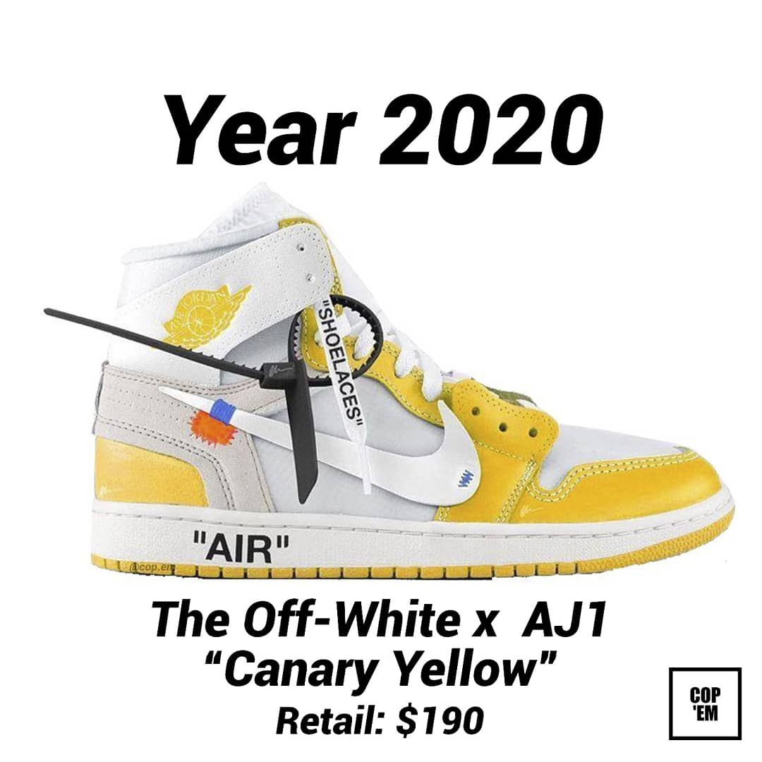 Off White™️ DROPS on Twitter: