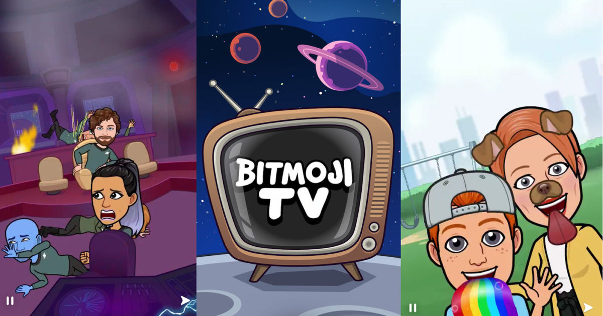 Snapchat's Bitmoji TV series will make your avatar the star