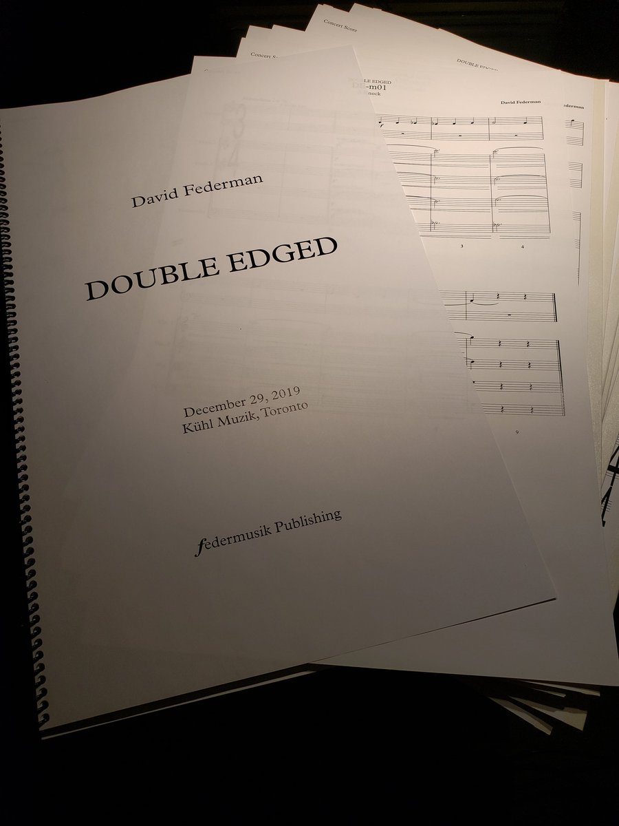 All prepped and ready for one last scoring session this year! Happy to be collaborating again with my friends in the @OdinQuartet on the score to Cliona Concetta's #DoubleEdged!  #filmscoring #composer #shortfilmpic.twitter.com/nmVec6xG2f