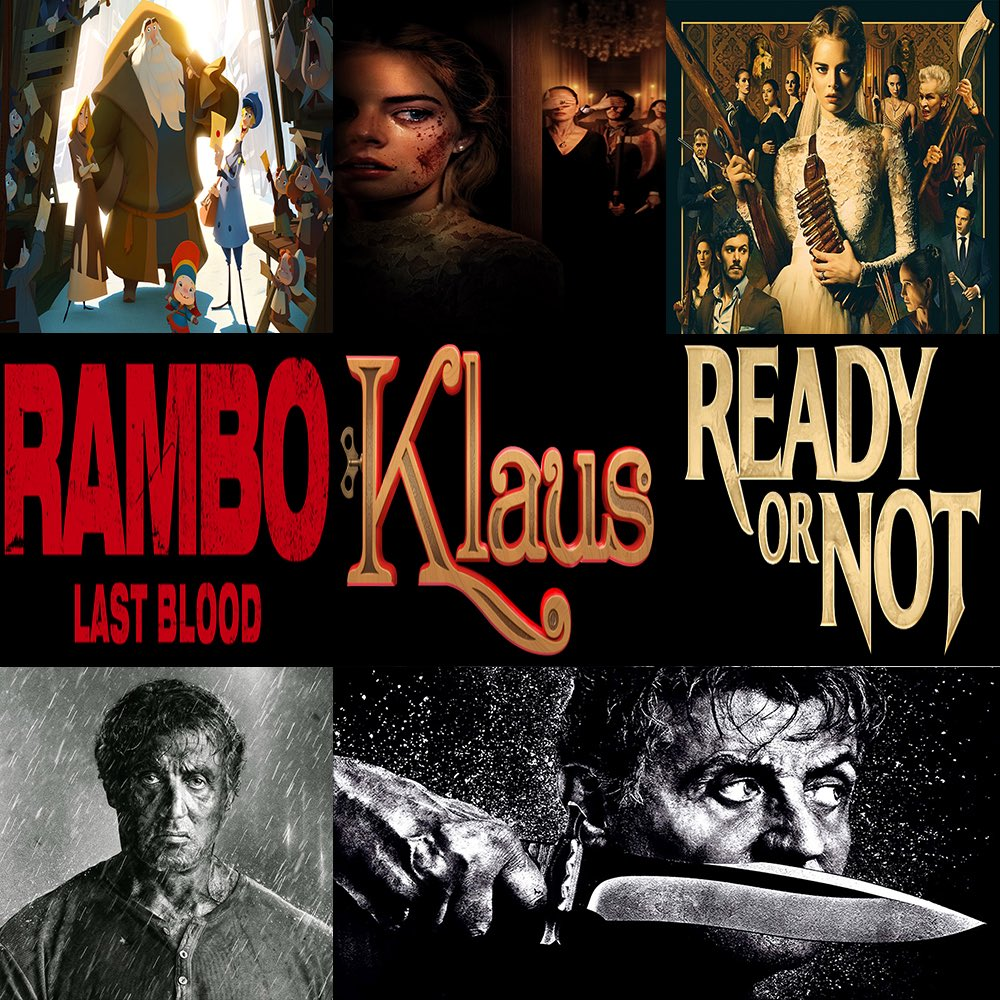 #ThisWeek in #Film, join us as we discuss #Rambo: #LastBlood, #Klaus, & #ReadyOrNot.  Click the link to hear the show -> http://thisweekinfilm.libsyn.com/week-142-rambo-last-blood-2019-klaus-2019-ready-or-not-2019…  #podcast, #podcasting, #podernfamily, #podcasts, #filmpod, #movies, #moviepodcast, #movie, #rambo5, #horror, #family, #action,pic.twitter.com/AXFooKdF8F