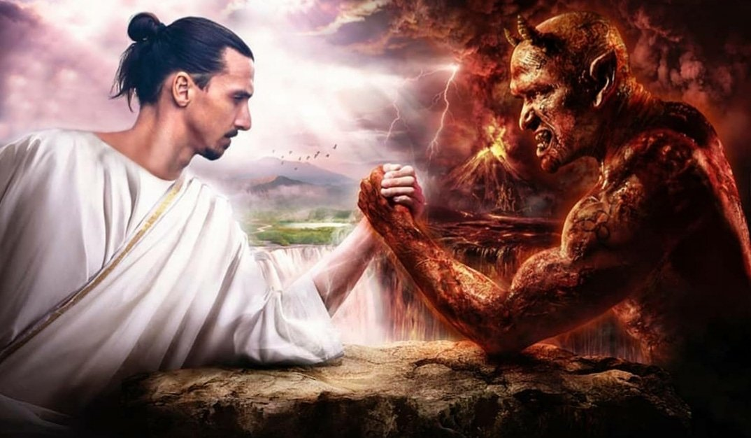 Same Zlatan. Different Devil. @acmilan Arrivo