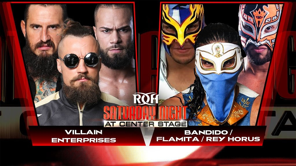 Ring Of Honor Announces New Matches For Center Stage And Honor Reigns Supreme Events