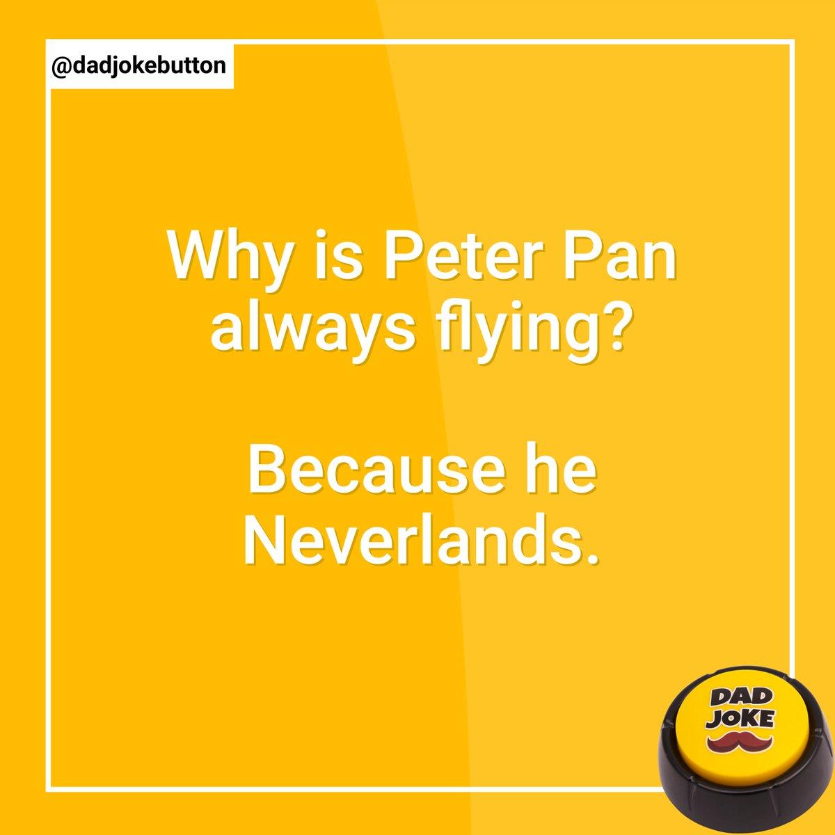 Follow @dadjokebutton  .  #dadjoke #dadjokes #jokes #joke #funny #comedy #puns #punsworld #punsfordays #jokesfordays #funnyjokes #jokesdaily #dailyjokes #humour #relatablejokes #laugh #joking #funnymemes #punny #pun #humor #talkingbuttonpic.twitter.com/B0bro4SKsr