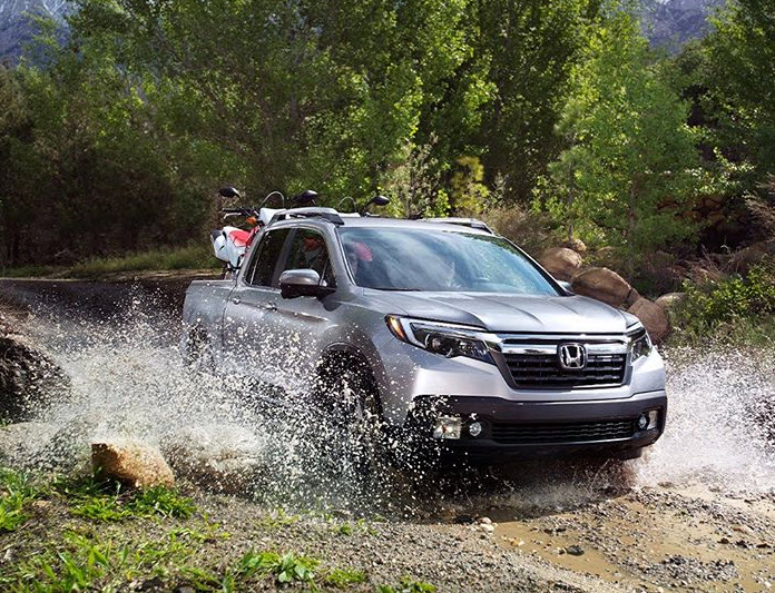 Whether the job calls for loading lumber or venturing off-road, the #HondaRidgeline always delivers.