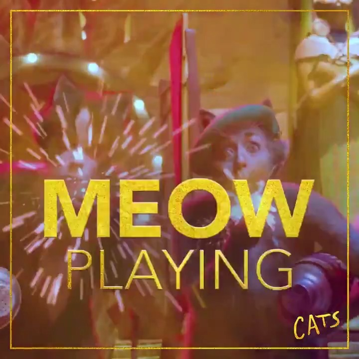 Grab your BFF (best feline friend) and head to theaters to see #CatsMovie